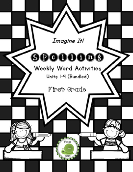 Spelling Activities for First Grade {THE BUNDLE}