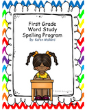 1st Grade Word Study  Spelling Bundle