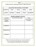 First Grade Spiraled Homework Sample