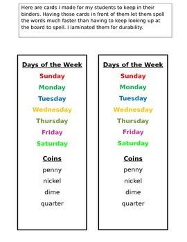 First Grade Spiraling Calendar Journal Calendar Routine Common Core  EDITABLE