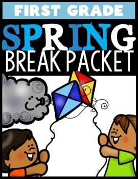 First Grade Spring Break Packet!