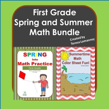 First Grade Spring and Summer Math {Bundle}