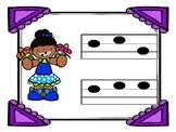 First Grade Spring Time Music Review: Sol Mi La and Ta TiTi