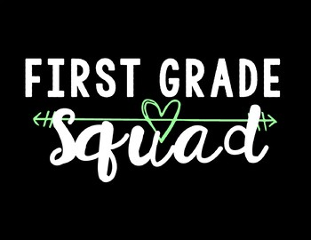 First Grade Squad Background
