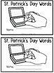 First Grade St. Patrick's Stamping
