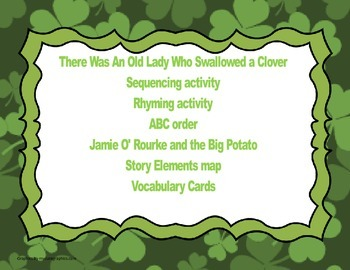 First Grade St. Patrick's Day Literacy