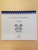 First Grade Standards-Based Record Book- FLORIDA STANDARDS