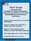 First Grade Standards Maps-California Literacy Standards a