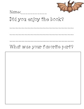 First Grade Stellaluna Resource Activities