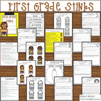 First Grade Stinks Book Companion