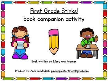 First Grade Stinks! Companion Activity
