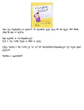 First Grade Stinks Worksheet