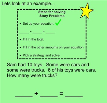 First Grade Story Problems