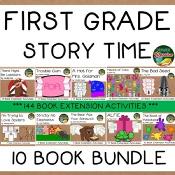 First Grade Story Time 10 Book Bundle