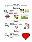 First Grade Storytelling Reference Sheet