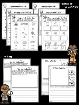 First Grade Sub Plans Detective