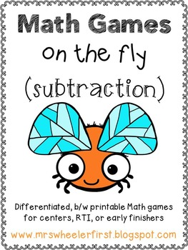 First Grade Subtraction Math Games