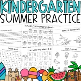 Kindergarten Summer Packet for Distance Learning