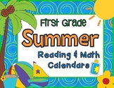First Grade Summer Learning Packet