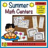 First Grade Summer Math Center Games