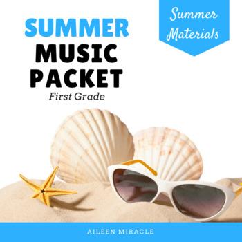 First Grade Summer Music Packet