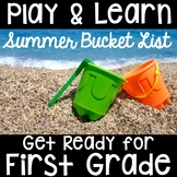 Kindergarten to First Grade Summer Packet- Get Ready for F
