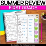 First Grade Summer Packet | End of the Year Review