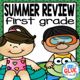 First Grade Summer Review  (First Grade Distance Learning)