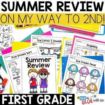 First Grade Summer Review