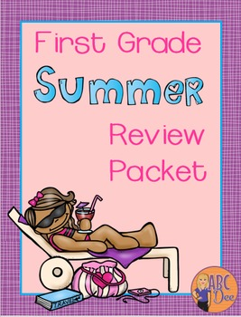 First Grade Summer Review Packet - Math and Language Arts