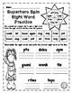 First Grade Superhero Sight Word Packet