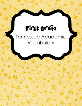 First Grade TN Academic Vocabulary