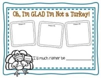 First Grade Talks Turkey: Non-Fiction ( fiction fun, too!) Learning with Turkeys