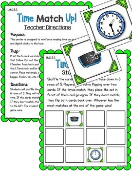 First Grade Telling Time Unit | Common Core Aligned & Differentiated