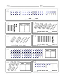 First Grade Tens and Ones Worksheet