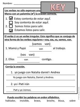 First Grade Tesoros de lectura Homework Package Unidad 4 Semana 2