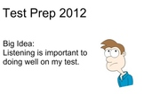 First Grade Test Prep:  Listening to LONG Problems