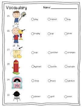 First Grade Test Prep for Standardized Testing