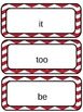 First Grade Texas Treasures Word Wall Words