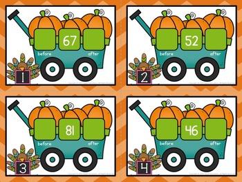 First Grade Thanksgiving Math Games