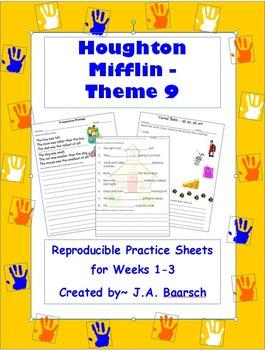 First Grade Theme 9 Houghton Mifflin Reproducibles