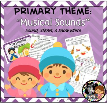 First Grade STEAM Theme - Musical Sounds!