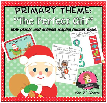 First Grade STEAM Theme - The Perfect Gift