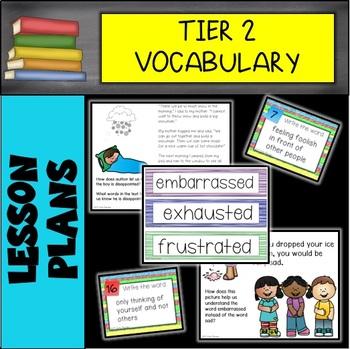 First Grade Tier 2 Vocabulary GROWING BUNDLE