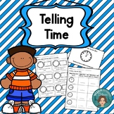 Telling Time -Elementary Math Practice