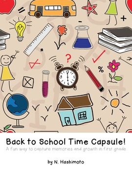 First Grade Back to School Time Capsule
