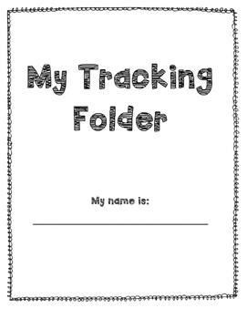 First Grade Tracking Folder