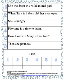 First Grade Treasures Reading roll and read fluency Unit 5 Week 5