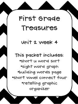 First Grade Treasures Unit 2 Week 4 Pack