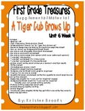 First Grade Treasures Unit 6.4 A Tiger Cub Grows Up Supplemental Material